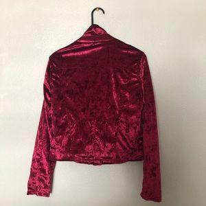 Newlook (L) velvet jacket.